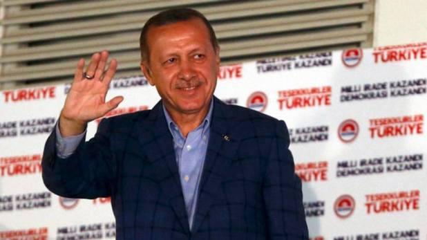 أردوغان يصيح: لا مساواة بين الرجل والمرأة