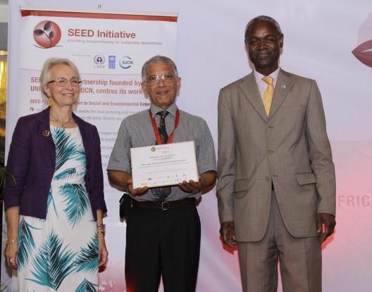 سييد أوورد أفريقيا 2014.. مغربي يحصد جائزة البيئة
