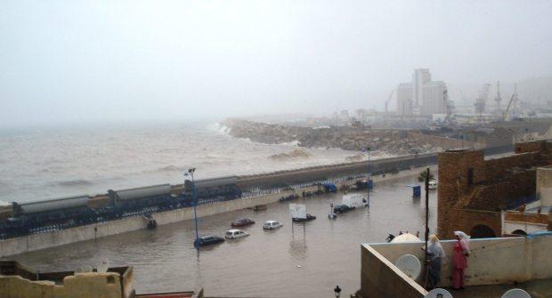 شمال المغرب.. الشتا غرقات المدن
