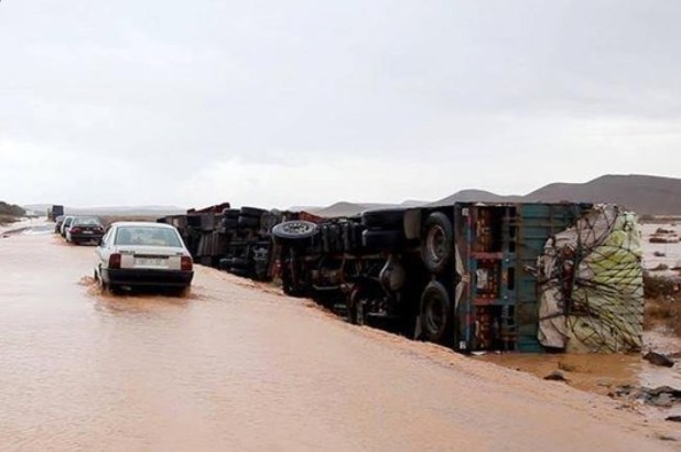 إقليم طاطا.. خمس طرق مقطوعة بسبب الأمطار