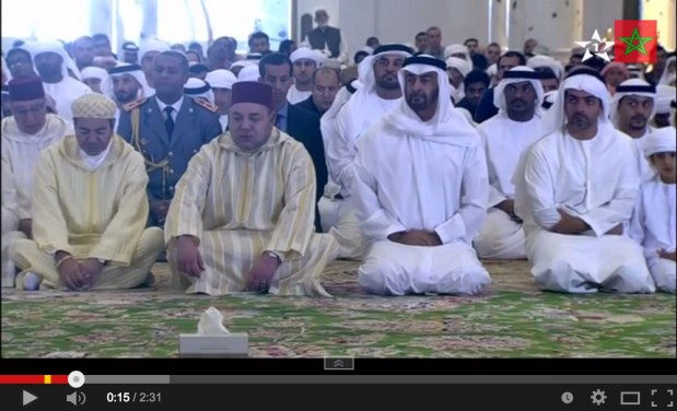 الإمارات.. الملك في صلاة الجمعة