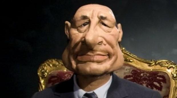 كنال بلوس حصلات.. حشيش في رأس دمية الرئيس الفرنسي الأسبق جاك شيراك (فيديو)