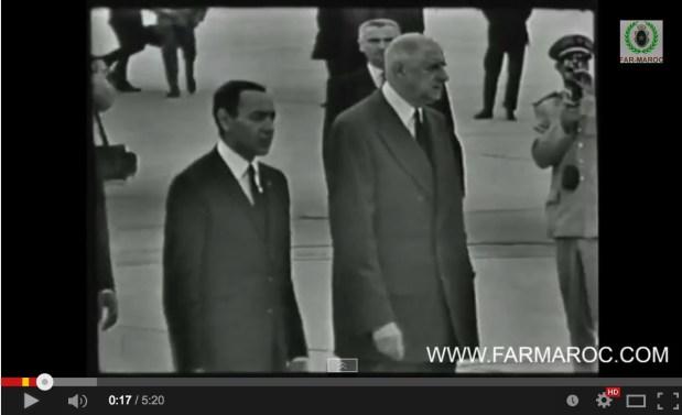يونيو 1963.. الحسن الثاني في باريس