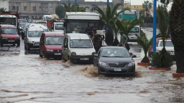 روبورتاج مصور.. فيضان في الدار البيضاء!!