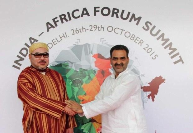 """رسميا.. الملك يشارك في منتدى """"الهند – إفريقيا"""" في نيودلهي"""