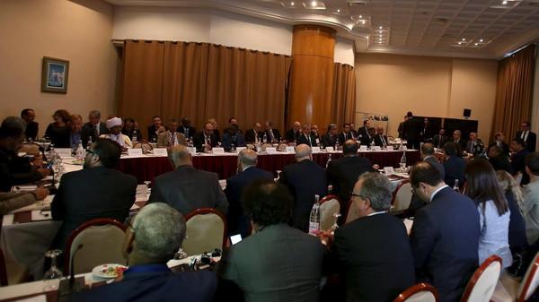 تشكيل حكومة وفاق وطني في ليبيا.. المغرب يرحب