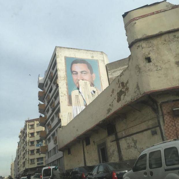 كازا.. حسني مبارك يظهر في كاراج علال!!