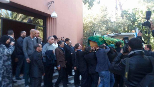 بالصور.. جنازة ليلى علوي