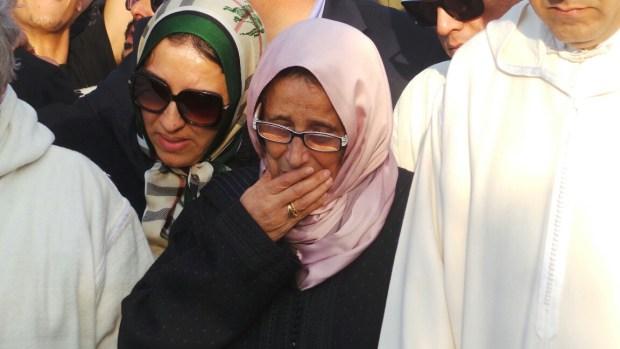 جنازة الطيب الصديقي.. دموع ثريا جبران (صور)