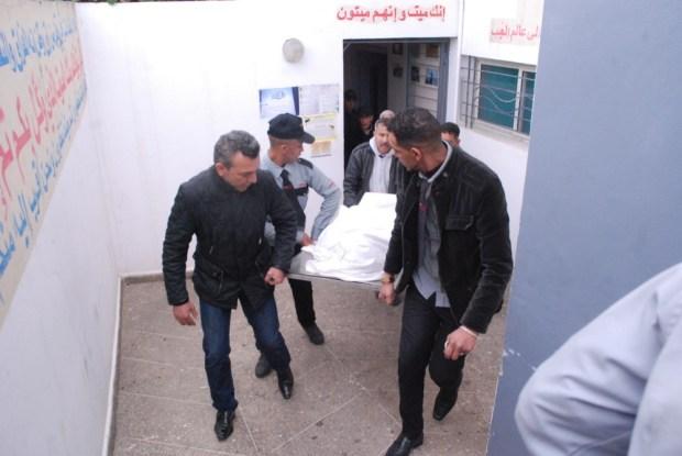 بالصور.. جريمة حي مبروكة في كازا