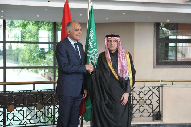 الرباط.. مزوار يستقبل وزير الخارجية السعودي
