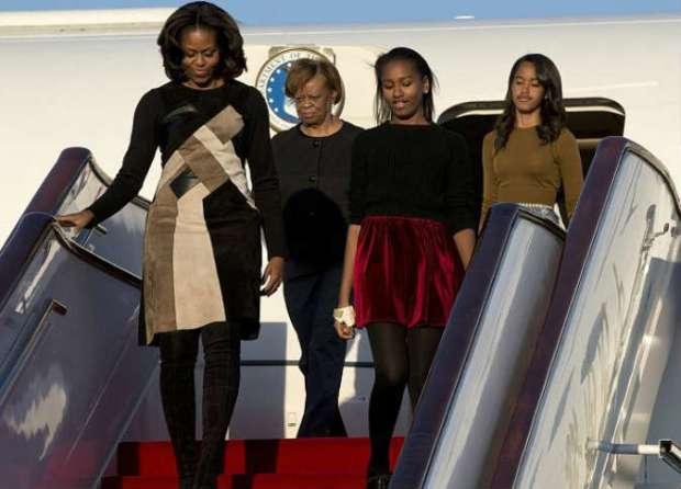 دعما لتعليم الفتيات.. ميشيل أوباما وابنتاها تزرن المغرب