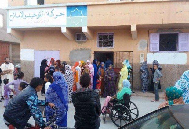 طانطان.. السلطات تمنع حركة التوحيد والإصلاح من توزيع قفة رمضان
