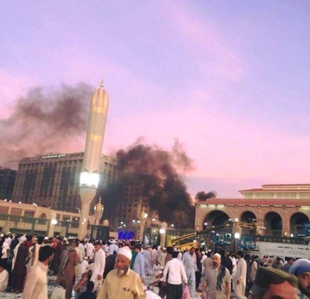 بشاعة الإرهاب.. تفجير انتحاري قرب المسجد النبوي (صور)