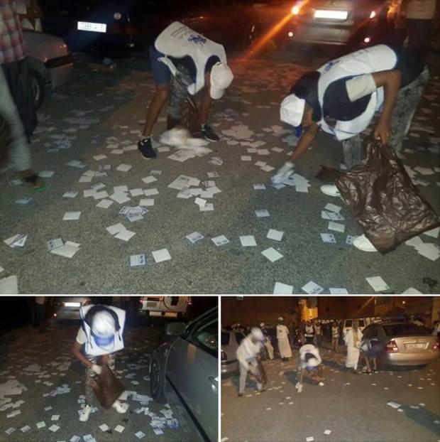 البام.. النظافة بعد الحملة