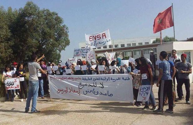 وقفات احتجاجية أمام رئاسات الجامعات.. الطلبة المهندسون غاضبون من مدارس بوليتكنيك