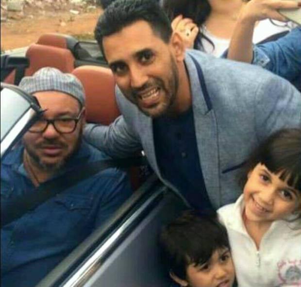مع الملك محمد السادس.. قصة صورة