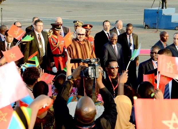 تنزانيا.. وصول الملك