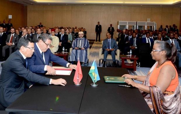 كيغالي/ رواندا.. الملك يترأس حفل إطلاق برنامج للشراكة الفلاحية