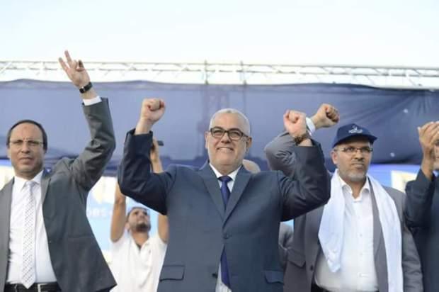دعا إلى التصويت لحزبه وهاجم خصومه.. آخر مهرجان خطابي لابن كيران قبل الاقتراع
