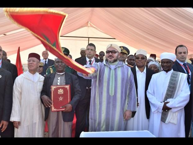 دار السلام/ تنزانيا.. الملك محمد السادس يعطي انطلاقة أشغال بناء مسجد