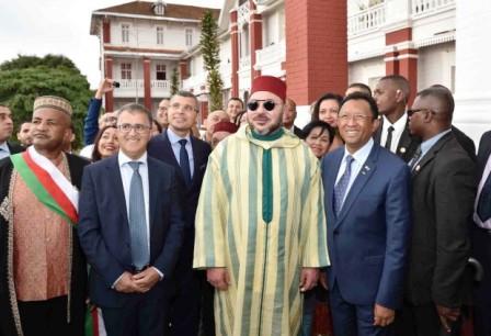 الوزير الأول الملغاشي: أشكر ملك المغرب