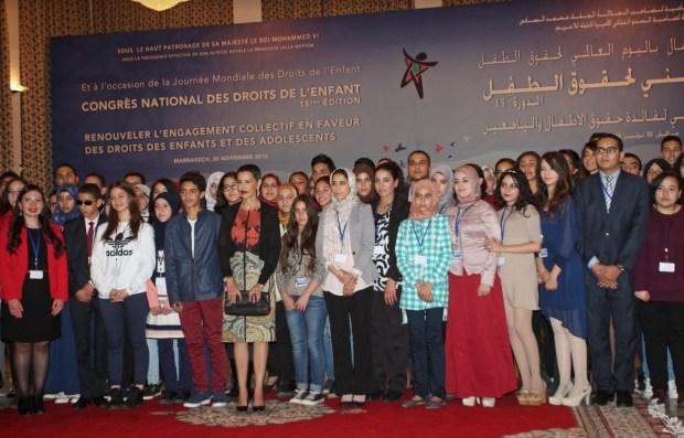 مراكش.. الأميرة للا مريم تترأس الدورة 15 للمؤتمر الوطني لحقوق الطفل