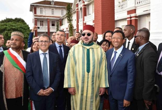 الملك يلتقي وسائل الإعلام في مدغشقر.. الحوار الكامل