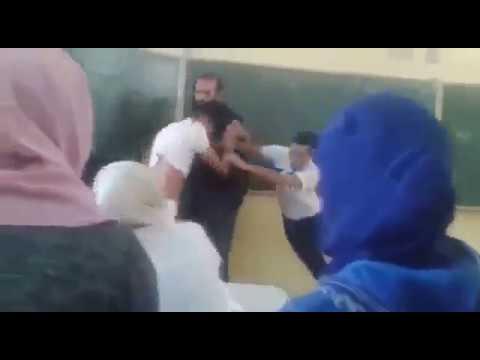 تارودانت.. توقيف أستاذ ضّارب مع تلميذ فالقسم (فيديو)