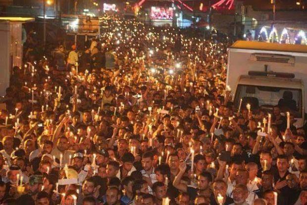 مسيرة الشموع في الحسيمة.. الملحمة (صور)