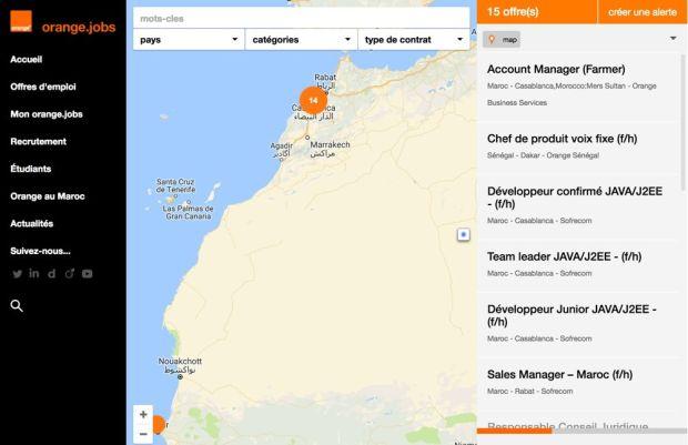 دارها غوغل.. أورانج وسط الزوبعة بسبب خارطة المغرب