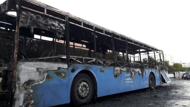 عاوتاني.. العافية شعلات في طوبيس في كازا (صور)