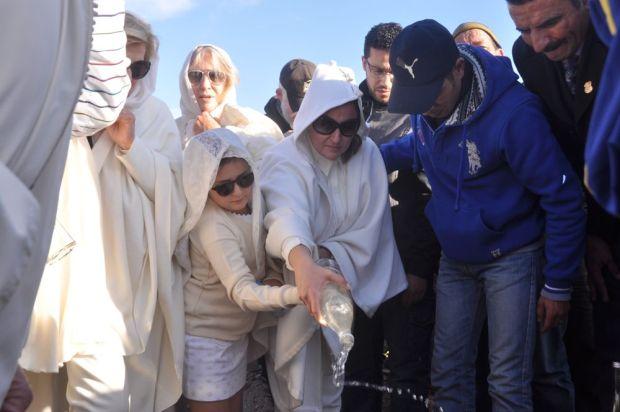 مراكش.. جنازة مالك قصر السعدي (صور)