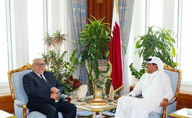 الدوحة.. أمير قطر يستقبل ابن كيران