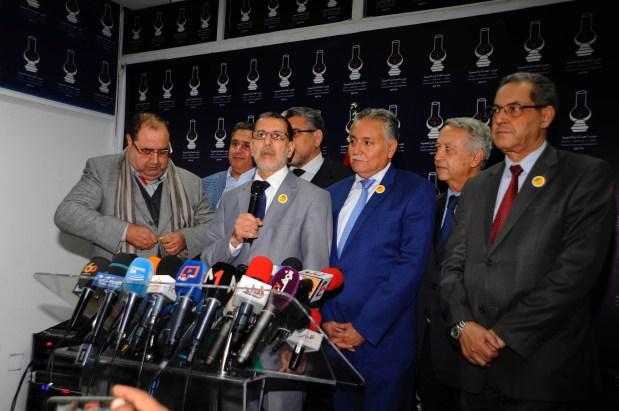 العثماني: لم نصل بعد إلى مرحلة أسماء الوزراء
