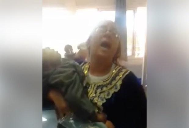 كازا.. سيدة تتهم مستشفى ابن رشد بالتسبب في وفاة طفلها (فيديوهات)