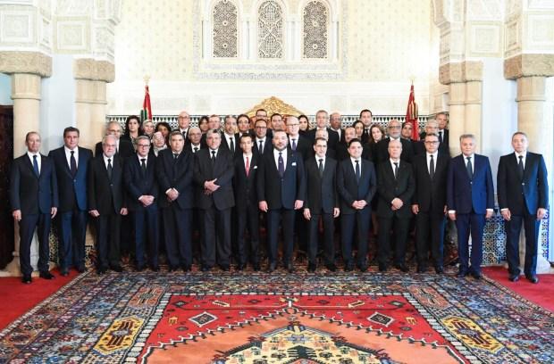 حكومة سعد الدين العثماني.. أول صورة رسمية