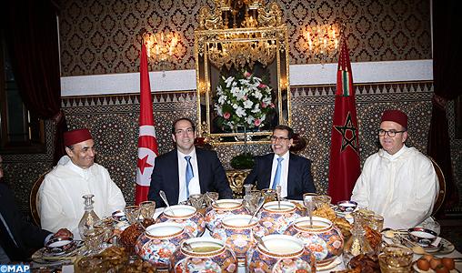 الرباط.. مأدبة إفطار ملكية على على شرف رئيس الحكومة التونسية