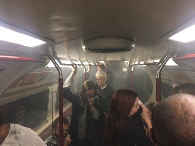 لندن.. حريق في مترو