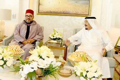 في مقر إقامته في طنجة.. الملك في زيارة ود ومجاملة إلى العاهل السعودي