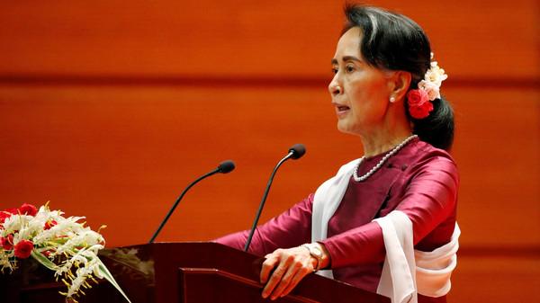 بورما مستعدة لتنظيم عودة لاجئين من الروهينغا.. زعيمة ميانمار عاد فاقت