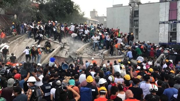 خلف 224 قتيلا بينهم 21 طفلا.. زلزال بقوة 8.2 يضرب المكسيك