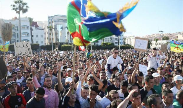 """الأحد 8 أكتوبر.. مسيرة وطنية للمطالبة باطلاق سراح معتقلي """"حراك الريف"""""""