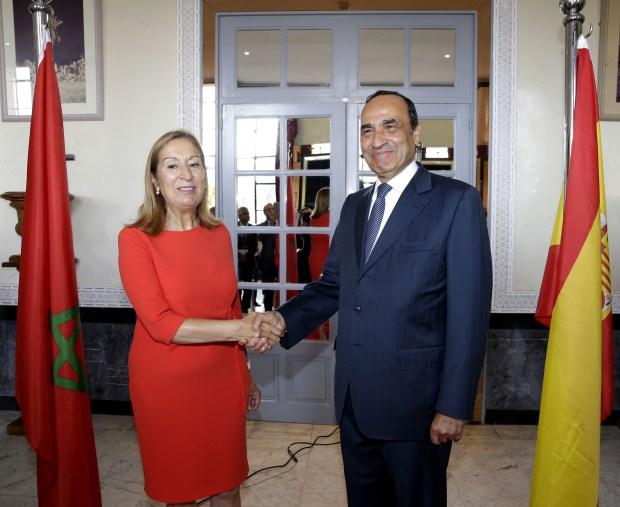 بالصور.. الحبيب المالكي يستقبل رئيسة مجلس النواب الإسباني