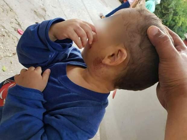 بالصور من بني مكادة/ طنجة.. واحد هلك ولادو الصغار بالعصا!