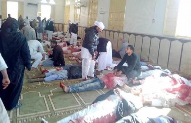 بعد الحادث الإرهابي.. حداد وطني لثلاثة أيام في مصر