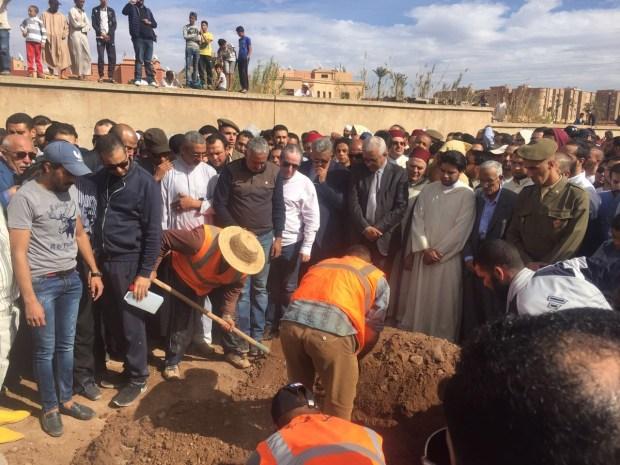 """بالصور من مراكش.. جنازة حمزة قتيل """"جريمة المقهى"""""""