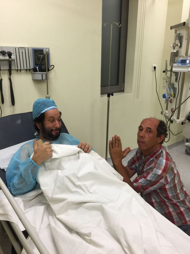 """الله يشافي.. """"مومو البولفار"""" في المستشفى"""