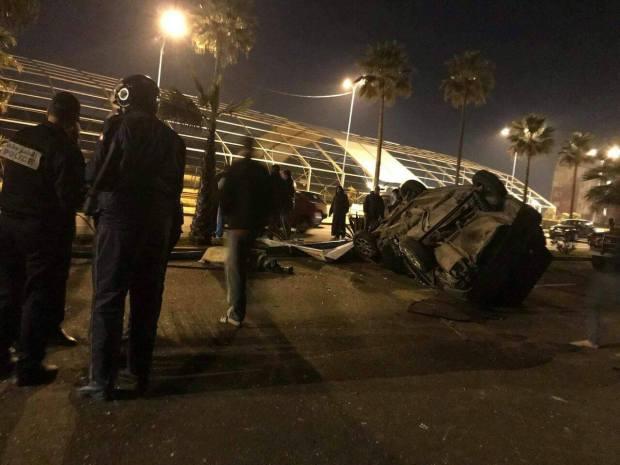 بالصور من كورنيش كازا.. قتيل وأربعة مصابين في حادث سير بسبب السرعة