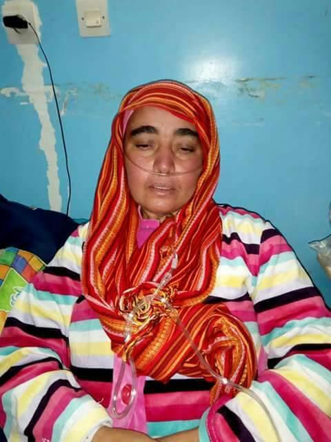 تخلى عنها زوجها وأسرتها بعد إصابتها بالتليف الرئوي.. فاطمة تستنجد